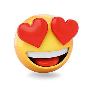 emoji in love