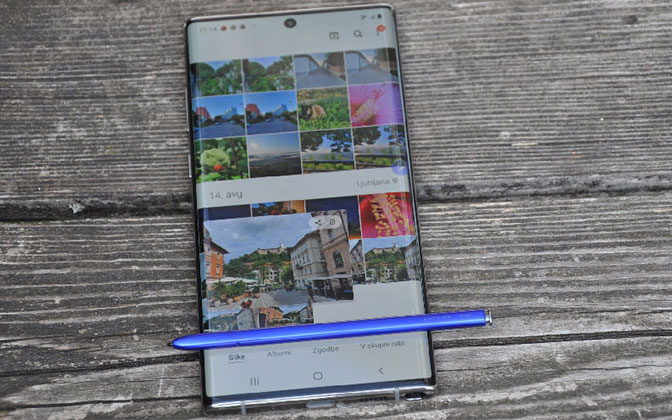 Test na dlani: Samsung Galaxy Note10+