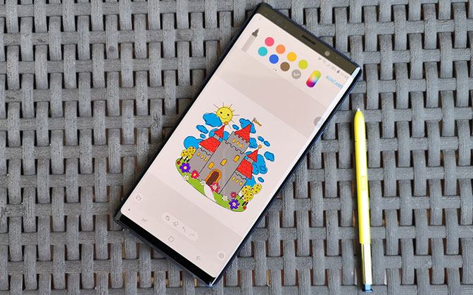 Samsung Galaxy Note9 - test na dlani